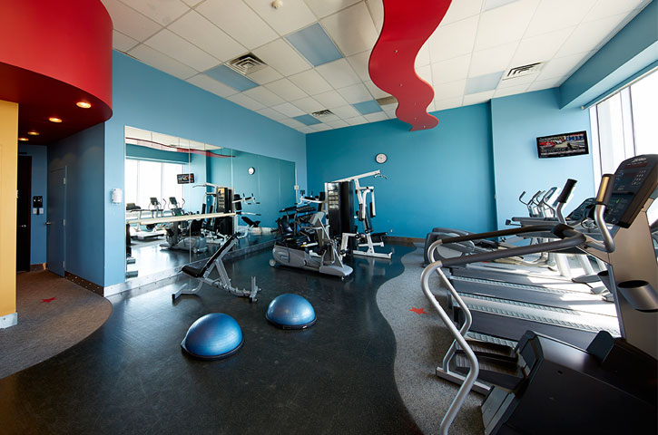 Photo of a fitness centre