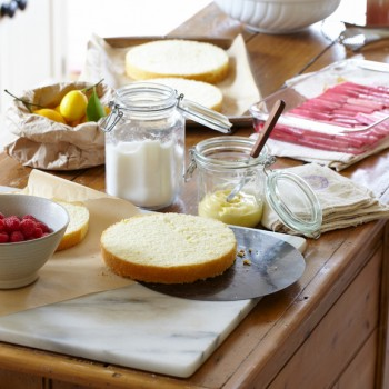 Image of a kitchen counter with various ingredients
