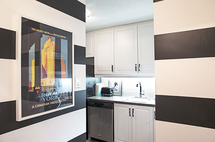 Photo of a kitchen in an apartment