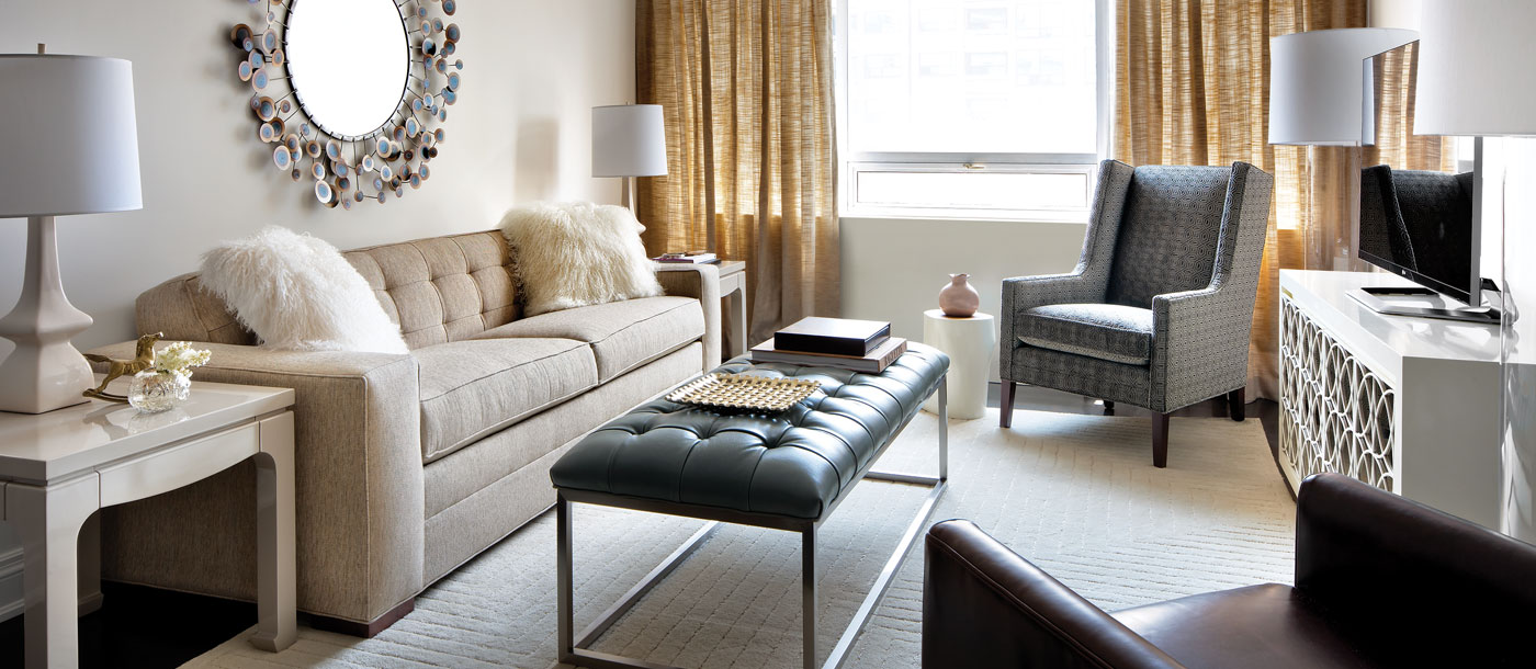 Photo of a living room in an apartment