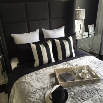 Image of a bed