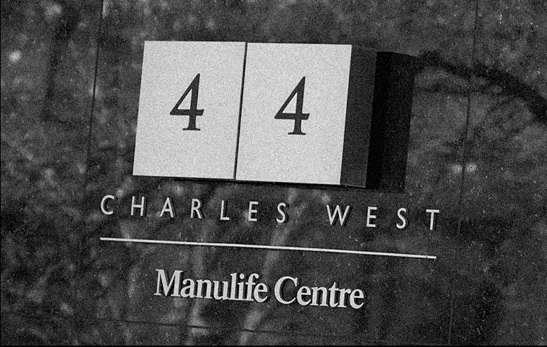 photograph of 44 Charles plaque